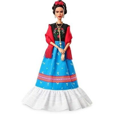 ❤ Frida Kahlo Mattel Barbie Doll Inspiring Women Series Mexican Artist IN STOCK❤ 11