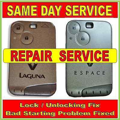 Renault Laguna & Espace  Key Card Repairs.Same Day Service !! Trusted Repairer 2