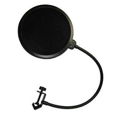 Double Layer Flexible Studio Microphone Mic Wind Screen Pop Filter Mask Shied 2