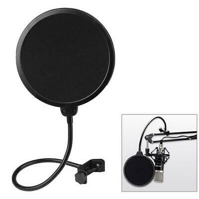 Double Layer Flexible Studio Microphone Mic Wind Screen Pop Filter Mask Shied 4