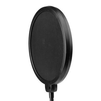 Double Layer Flexible Studio Microphone Mic Wind Screen Pop Filter Mask Shied 3