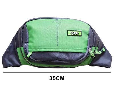 Bum Waist Bag Handy Belt Climbing Hiking Sport Unisex Fanny Pack Zip Pouch 7