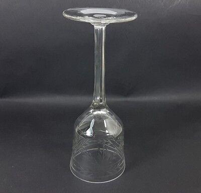 Glas Römer Weinglas, handgraviert, handgeschliffen, um 1920 AL238 5
