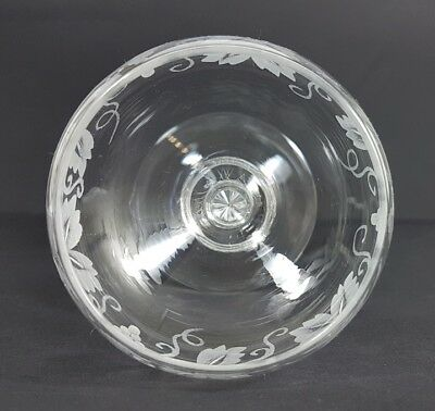 Glas/ Römer Weintraube, handgraviert, wohl Val St. Lambert, um 1880 - 1890 AL282 9