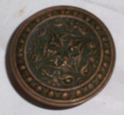 Antique Eastlake Era Renaissance Style Door knobs 4