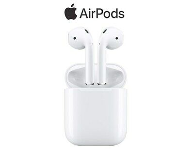 Genuine Apple AirPods 2nd generation with Charging Case White Bluetooth 2019 3