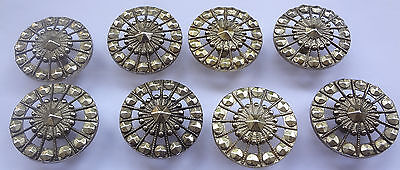 Lot 2 Vintage very pretty Pull handles Knobs 1 7/8'' Free Shipping 8