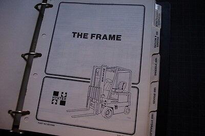 HYSTER E25 E30 E35 E40 E50 E60 J50 J60 FORKLIFT Service Repair Manual book shop 5