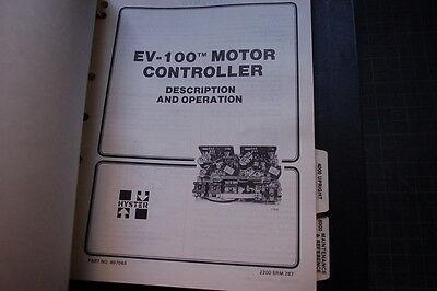 HYSTER E25 E30 E35 E40 E50 E60 J50 J60 FORKLIFT Service Repair Manual book shop 8