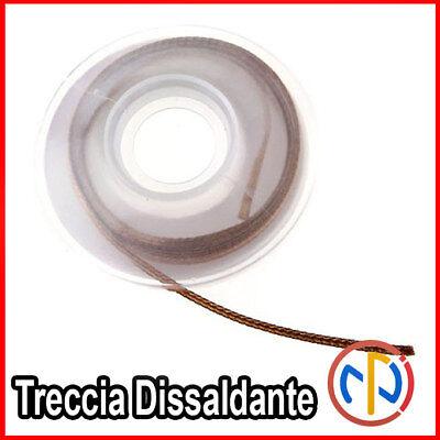 Treccia 2 mm Trecciolla Dissaldante lunga 1,5mt 3