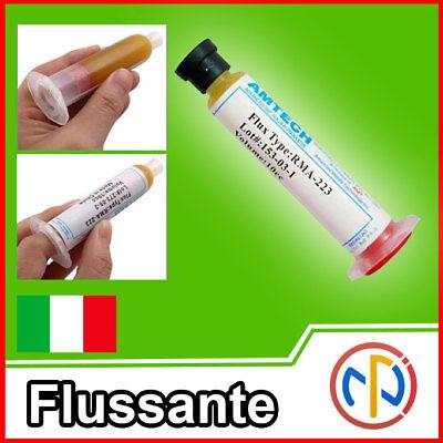 Flussante Flux 10cc Pasta Gel Saldante Aria Calda, BGA, Smd 2