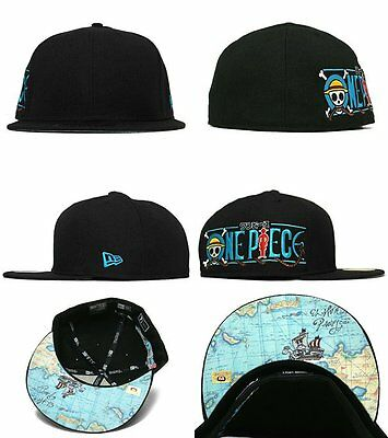 NEW ERA 59FIFTY ONE PIECE - MAP- BASEBALL CAP - BLUE -  47.99  deb31634a35