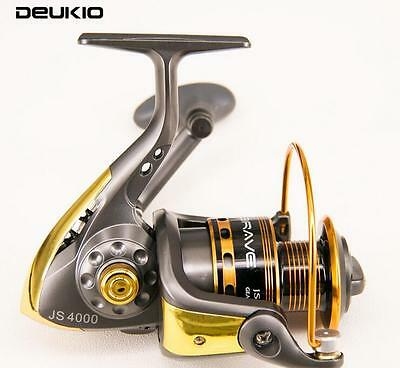 Fishing Spinning Reel Saltwater Freshwater9BB Trout Redfish Salmon Bass1000-6000