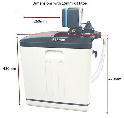 Softenergeeks Super Compact Meter control water softener. 6