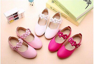 Details zu Kinder Mädchen Halbschuhe Ballerinas Leder Schuhe Party Prinzessin Bowknot Sneak