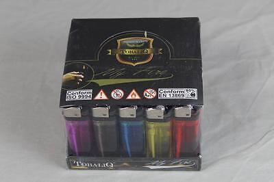 100 Einweg Feuerzeuge - 2 x 50 er Pack im Verkaufsdisplay mit Kindersicherung