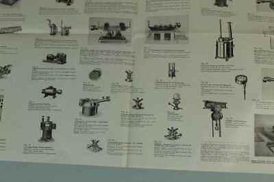 Teileliste Fa.Jung, Bingen / Hohenz. - Spezialfabrik Picherei Anlagen 1950 /S180 6