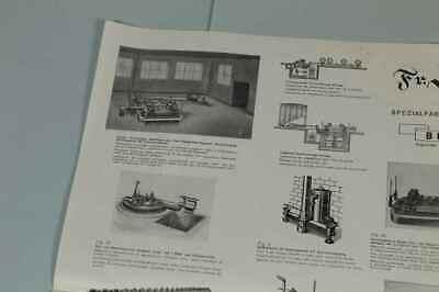 Teileliste Fa.Jung, Bingen / Hohenz. - Spezialfabrik Picherei Anlagen 1950 /S180 10