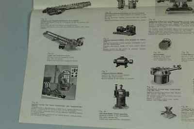 Teileliste Fa.Jung, Bingen / Hohenz. - Spezialfabrik Picherei Anlagen 1950 /S180 7