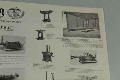 Teileliste Fa.Jung, Bingen / Hohenz. - Spezialfabrik Picherei Anlagen 1950 /S180 4