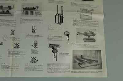 Teileliste Fa.Jung, Bingen / Hohenz. - Spezialfabrik Picherei Anlagen 1950 /S180 5