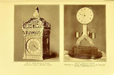221 Horology Books On Usb - Clockwork Grandfather Clock Clocks Pocket Watch Time 4