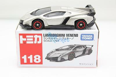 1 Of 5 NEW Takara Tomy Tomica #118 Lamborghini Veneno Car Scale 1/67  Diecast Toy Car
