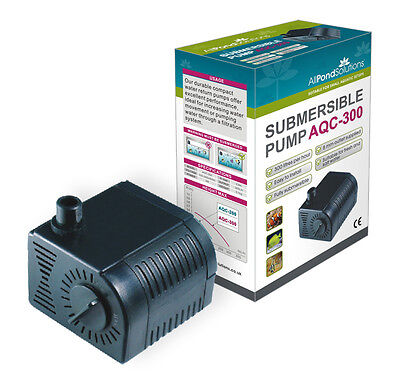 Aquarium Submersible Fish Tank Water Pump + Flow Adjuster - Ornamental Features 2