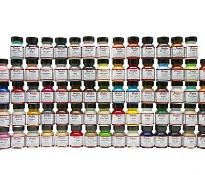 Angelus Brand Acrylic Leather & Vinyl Waterproof Paint 83 Colors! 8