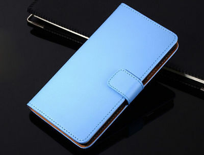 Genuine Leather Flip Wallet Case Cover For Samsung Galaxy S7 S8 S9 S10+ Note 8 9 10