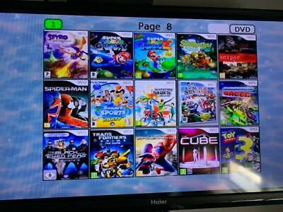 CONSOLE NINTENDO Wii usb loader gx +140GIOCHI +ACCESSORI Just Dance 2020 Mario 5
