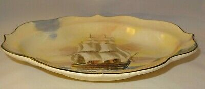 Royal Doulton Collectors Plate FAMOUS SHIPS THE VICTORY Circa 1939 D5957