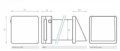 Ambientika WIRELESS- RECUPERATORE DI CALORE - ventilazione meccanica controllata 5