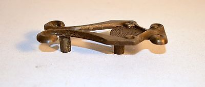 "Vintage Rustic Brass Plated  Drawer Cabinet Cupboard Handle  3""1/2 2"