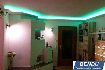 20M LED STUCKLEISTEN Lichtvouten indirekte Beleuchtung Decke ...