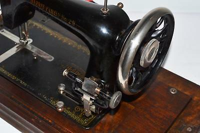 1930's HARRIS FAMILIY 2H Sewing Machine with Electric Motor -FREE P&P [PL2107] 4