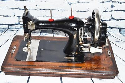 Rare Stoewer VS Victorian Decal #806333 Hand Crank Sewing Machine [PL2153] 6