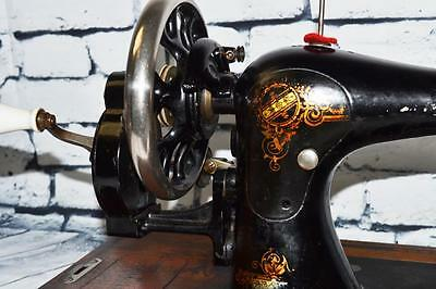 Rare Stoewer VS Victorian Decal #806333 Hand Crank Sewing Machine [PL2153] 3 • EUR 322,17