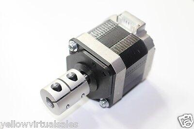 "6.35mm x 12mm 1/4"" Rigid Shaft Coupler CNC Stepper Servo Motor Coupling Nema 23"