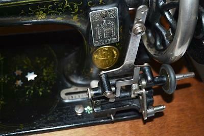 19c FRISTER & ROSSMANN Mother of Pearl Hand Crank Sewing Machine [PL2278] 7