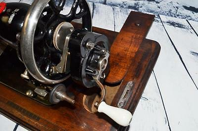 Rare Stoewer VS Victorian Decal #806333 Hand Crank Sewing Machine [PL2153] 4