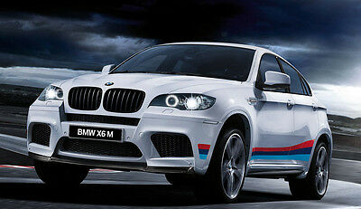 Bmw Oem M Performance Black Kidney Grille Set X6 E71 E72 08 14 X5 E70 07 13 Sav