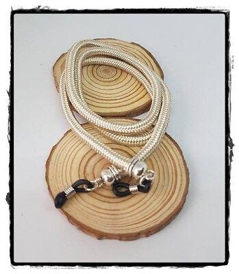 (R-1747) Cordón Colgante Para Gafas Cadena Cordón Paracord Topes Silicona