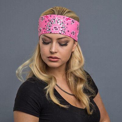4 of 6 Hair Glove® EZ Dana Headband Pink Ribbon w Crystals ae5616f3964