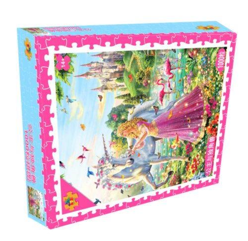 Adult 1000 Piece Large Cardboard Jigsaw Puzzle Decompression Game Toy Difficulty 5