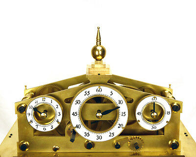 Mystery 8 DAY Fusee Chain English Congreve Rolling Ball Clock with BELL STRIKING