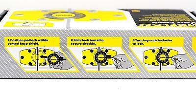 Stoplock for Renault Trafic High Security Anti-Theft Van Rear Door Lock + 3 Keys 2