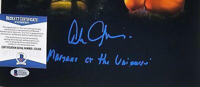 Alan OPPENHEIMER SIGNED 11x14 Photo SKELETOR MAN-AT-ARMS BECKETT BAS COA 406 2