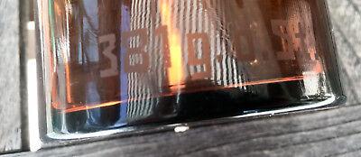 Apotheker -  sehr schöne Glaskappenflasche - BROM  -sehr selten - Gruseldeko 11