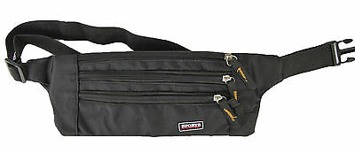 Money Belt travel bag secure waist zip 3